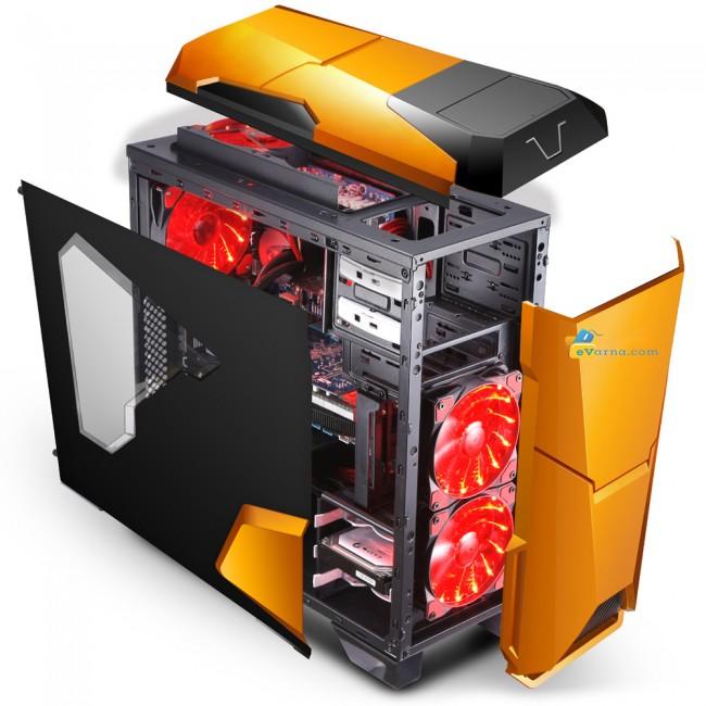 Мощен Компютър с I7-7700 с 8 логически ядра, GTX 1070 8GB GDDR5 ! - Компютри за Игри от Evarna