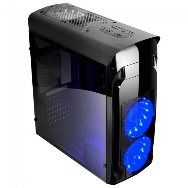 Компютър с новия I3-8100, 8GB DDR4, Геймърска кутия! - Компютри за Дома и Офиса от Evarna