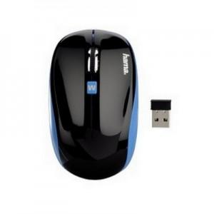 БЕЗЖИЧНА ОПТИЧНА МИШКА HAMA AM-7600, USB, ЧЕРЕН