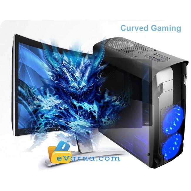 Геймърски Компютър i5-7400, ASUS, 8GB, GTX 1050TI 4GB HDMI, Голям Геймърски Монитор! - Компютри за Игри от Evarna