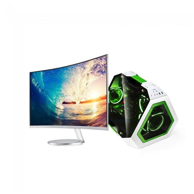 Дизайнерски Геймърски Компютър с Огромен Монитор 31,5 - Компютри за Игри от Evarna