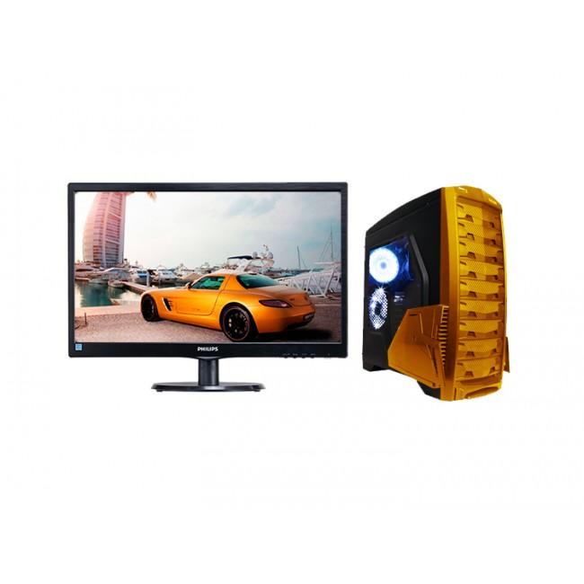 Геймърски Компютър i5-7500, ASUS, 8GB, GTX 1060 и Монитор, Супер Цена! - Компютри за Игри от Evarna