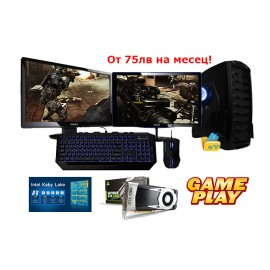 2 Монитора + Intel I5-7400, GTX 1060 6GB GDDR5
