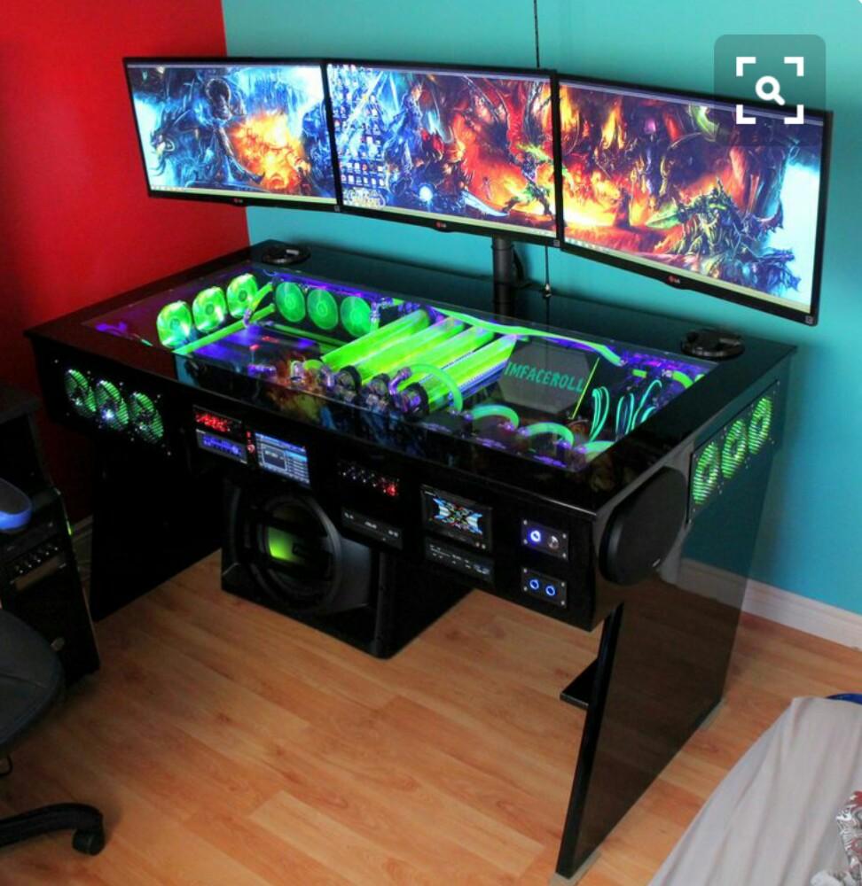 Най-якото геймърско бюро!